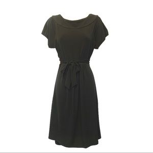 LIZ LANGE Maternity Cap Sleeve Jersey Knit Dress